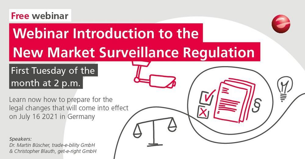 Introduction to the Market Surveillance Regulation 2021 (Webinar   Online)