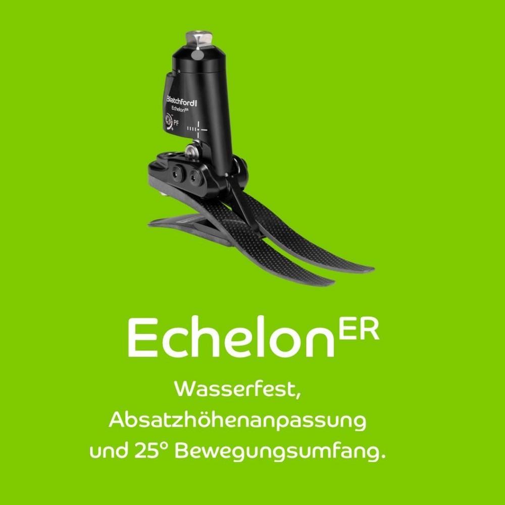 Der neue Knöchelgelenksfuß EchelonER: Wasserfest, Absatzhöhenanpassung und 25° Bewegungsumfang (Webinar | Online)