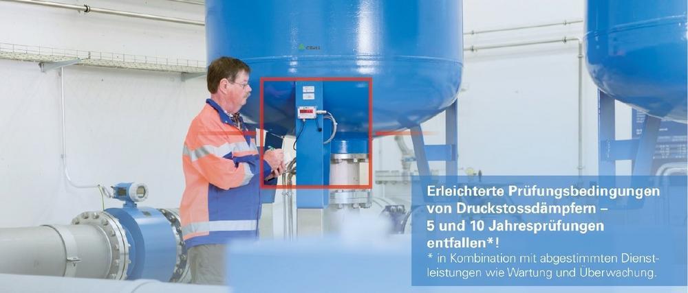 Erleichterte Prüfungsbedingungen von ORELL- Druckstossdämpfern 5 und 10 Jahresprüfungen entfallen!