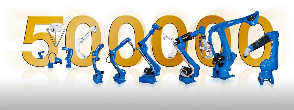 500.000 Motoman Roboter von Yaskawa ausgeliefert