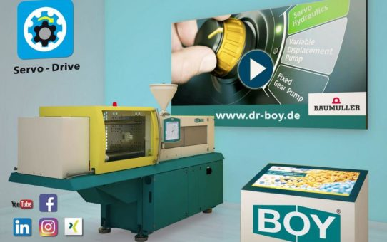 Digitale BOY 60 E auf der virtuellen Hannover Messe