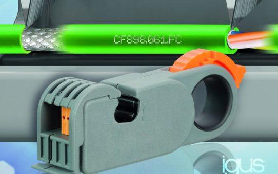 FastConnect Leitung von igus reduziert Konfektionierungszeit um 46 Prozent