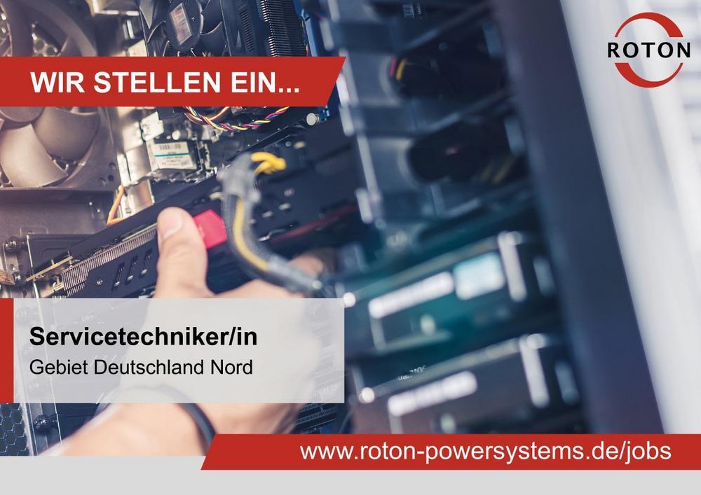 Servicetechniker im Außendienst (m/w/d) - Gebiet Deutschland Nord (Vollzeit   Hamburg)