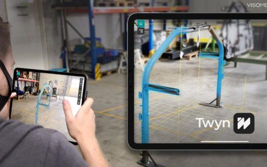 Visometry stellt neues Produkt Twyn vor: Augmented Reality-basierte Qualitätsprüfung mittels Digitalem Zwilling