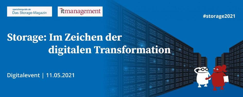 Storage: Im Zeichen der digitalen Transformation (Konferenz   Online)