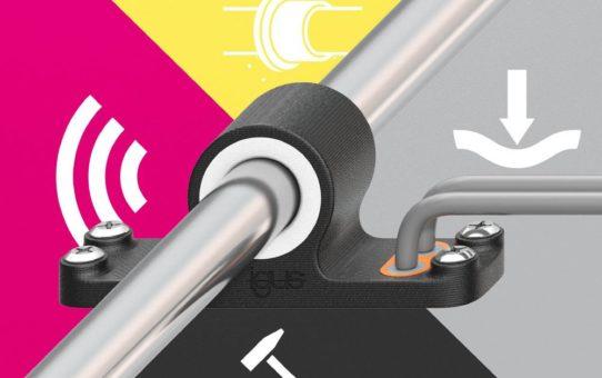 4K für 3D: igus bietet Multimaterialdruck für multifunktionale Bauteile an