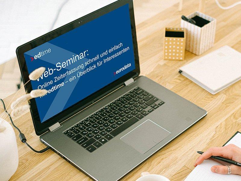 Online Zeiterfassung schnell und einfach mit edtime - ein Überblick für Interessenten (Webinar | Online)