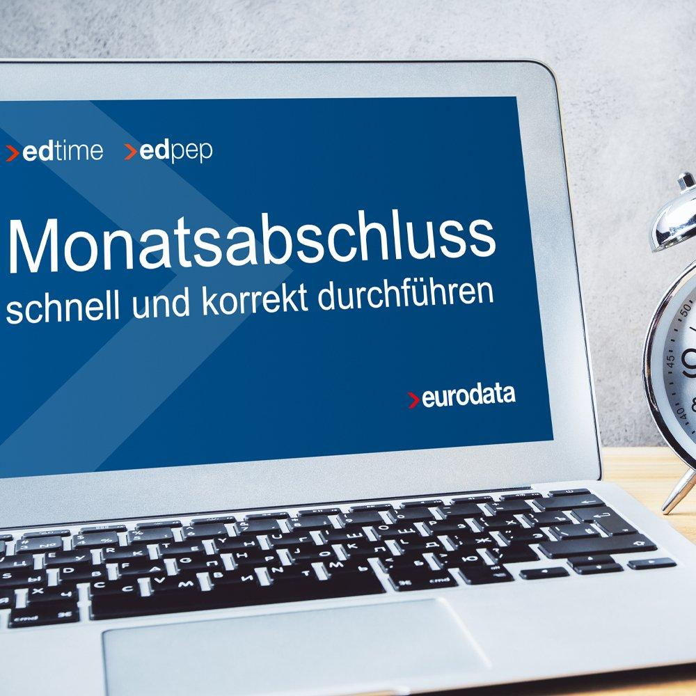Monatsabschluss schnell und korrekt durchführen - für edpep und edtime Anwender (Webinar | Online)