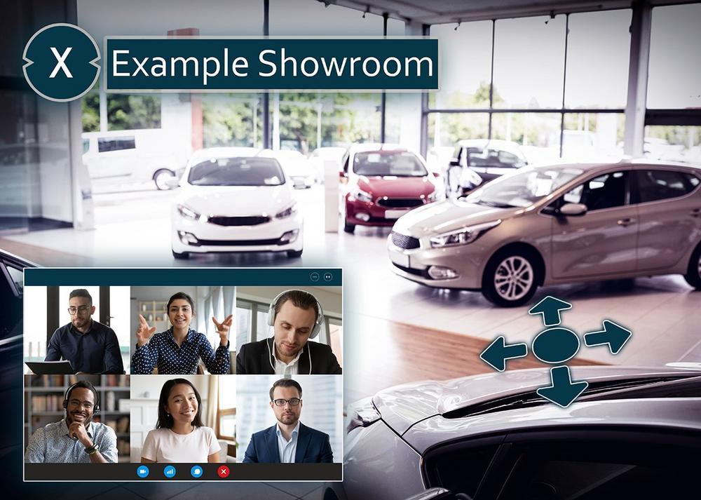 Digital Showroom und virtuelle Messen