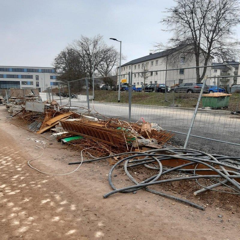 Recycling von Altmetall: Schrottabholung in Siegen