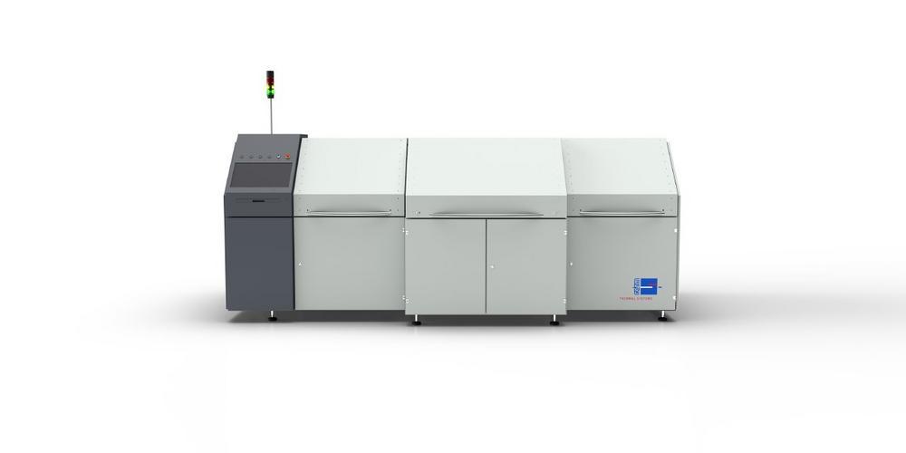 Inlinefähiges Dampfphasenlötsystem für automatisierte Prozesse