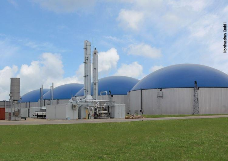 Wärmetauscher reinigen in einer der größten Biogas-Raffinerien  Deutschlands mit dem JetMaster-System von mycon