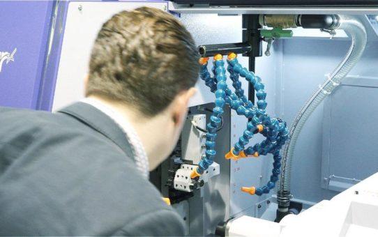 Industrie 4.0 zum Anfassen für Hersteller von Präzisionsteilen