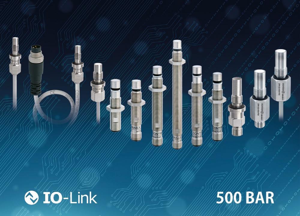 Robuste Induktivsensoren mit IO-Link für den Industrie 4.0-Einsatz