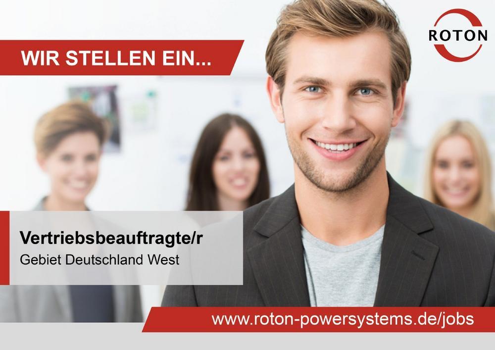Vertriebsbeauftragte/r im Außendienst (m/w/d)  - Gebiet Deutschland West (Vollzeit   Köln)