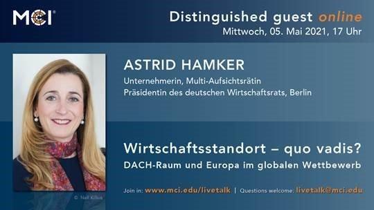 Wirtschaftsstandort - quo vadis? DACH-Raum und Europa im globalen Wettbewerb. (Seminar | Online)