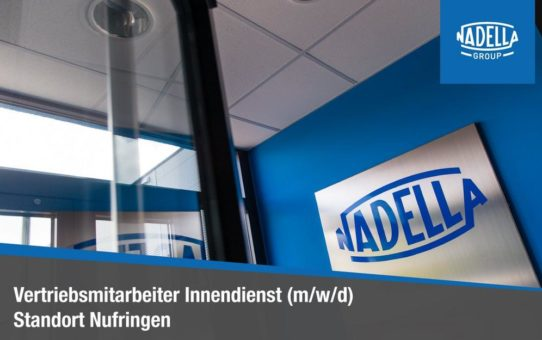 Vertriebsmitarbeiter Innendienst (m/w/d) (Vollzeit | Nufringen)
