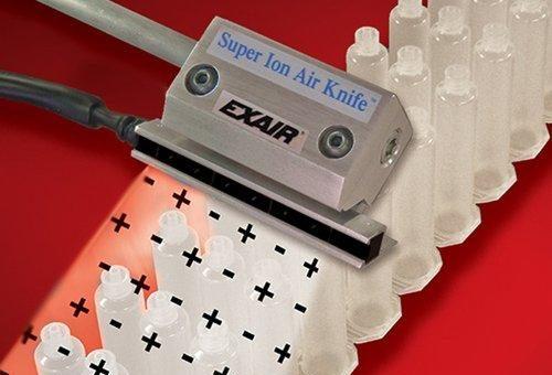 Gen4 Super Ion Air Knife: Reduzierung von Stromschlägen und Ausfallzeiten in Verarbeitungsanwendungen