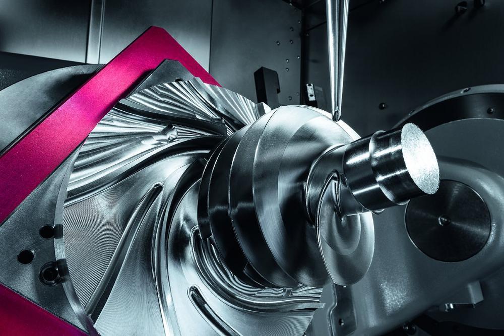 Mill Turn-Technologie beflügelt Triebwerkskomponenten