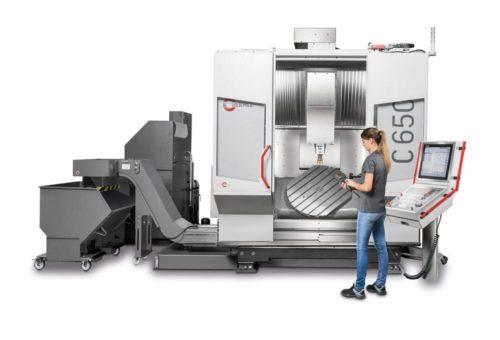 Neues Maschinenmodell und jede Menge Digitaler Bausteine am Hermle Messestand auf der EMO