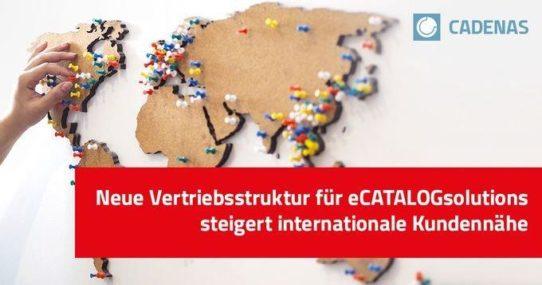 CADENAS treibt Internationalisierung voran mit neuer Vertriebsstruktur für den Bereich Elektronische CAD Produktkataloge