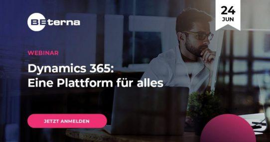 Dynamics 365: Eine Plattform für alles (Webinar   Online)