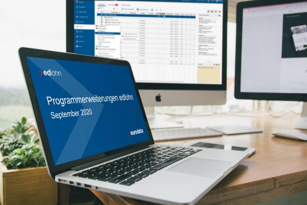 Programmerweiterungen in edlohn - Lernen Sie die neuen Funktionen kennen (Webinar | Online)
