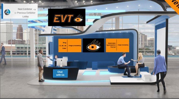 EVT auf der virtuellen Vision Week 2021! (Messe | Online)