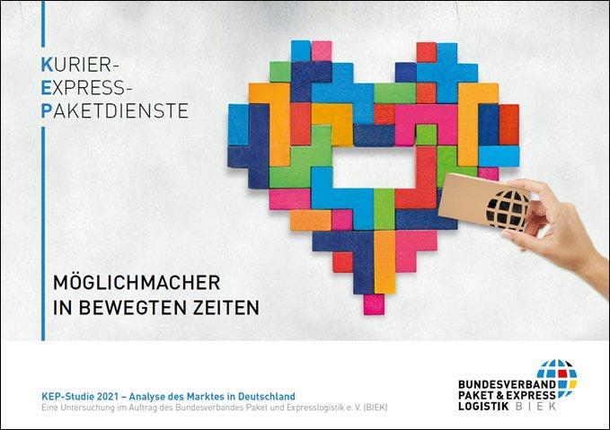 PRESSEKONFERENZ: Einladung zur Vorstellung der KEP-Studie 2021 (Pressetermin   Berlin)