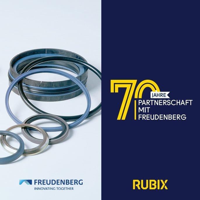 Rubix und Freudenberg Sealing Technologies - eine über Jahrzehnte gewachsene Partnerschaft