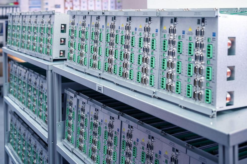 Neue Produktionshalle ermöglicht höhere Fertigungskapazität