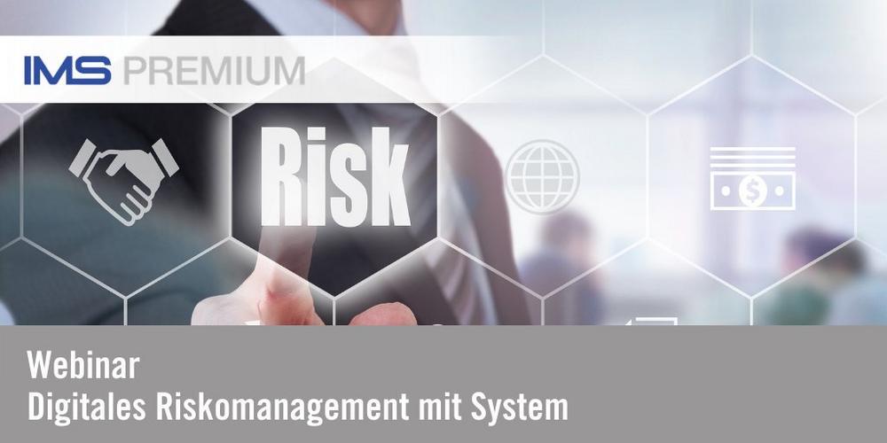Webinar: Digitales Risikomanagement mit System (Webinar | Online)