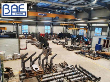 Große Halle – große Chance: Wie die BAF GmbH einen Neubau für die erfolgreiche Umstrukturierung ihrer Produktion nutzt
