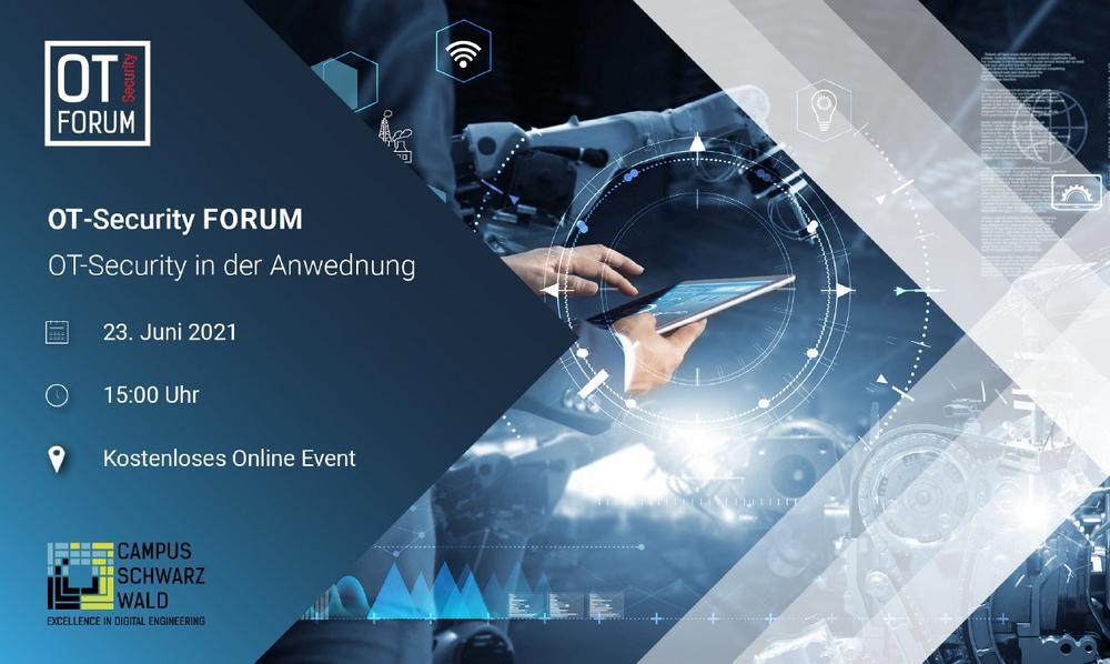 OT-Security Forum - OT-Security in der Anwendung (Vortrag   Online)