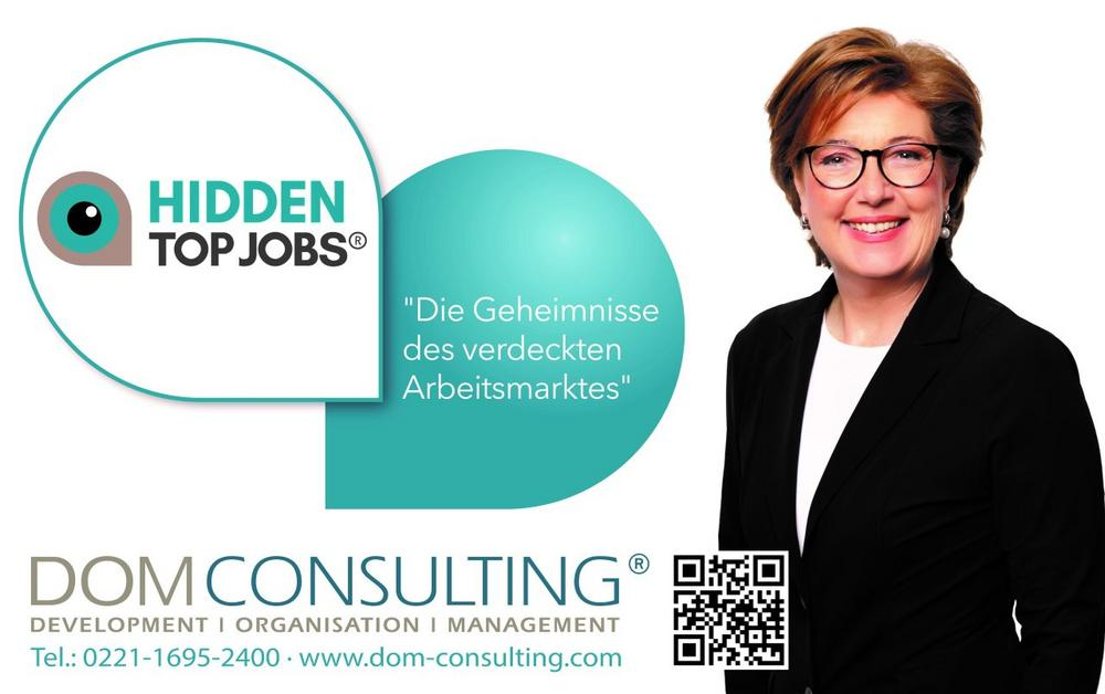 HIDDEN TOP JOBS® | Die Geheimnisse des verdeckten Arbeitsmarktes (Vortrag | Köln)