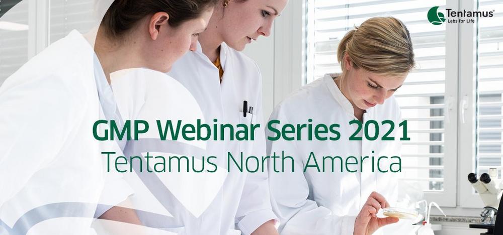 GMP Webinar Series - Tentamus North America (Webinar | Online)