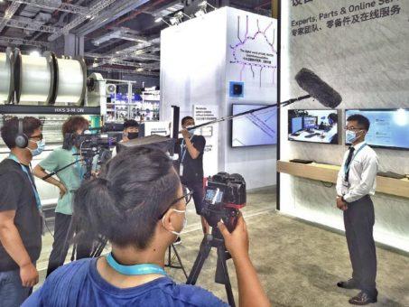 KARL MAYER auf der ITMA ASIA + CITME: Live in Schanghai und dann virtuell für die ganze Welt