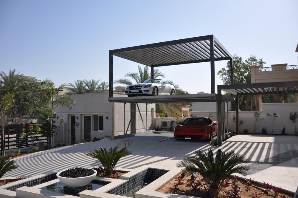 Parkoase am Persischen Golf