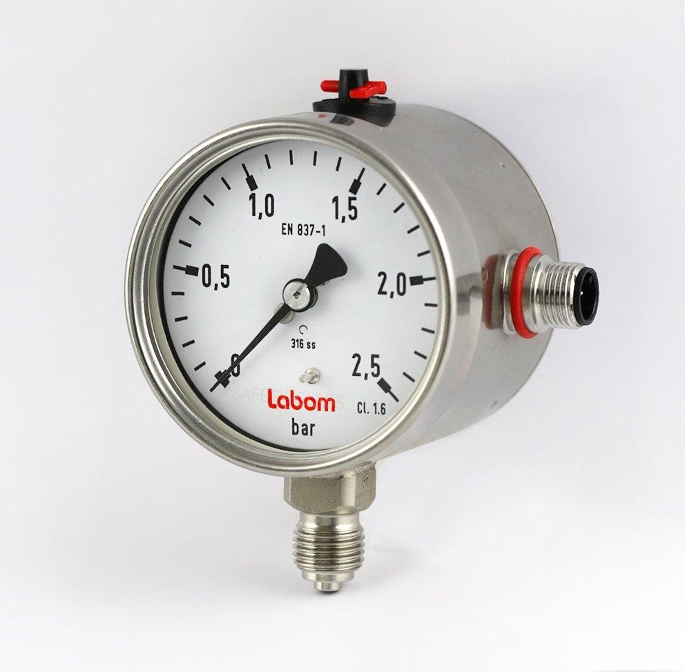 Elektronische Messwertübertragung für Druckmessgerät NG63