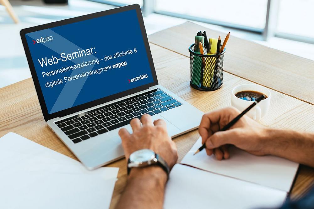 Personaleinsatzplanung – das effiziente & digitale Personalmanagement  edpep - ein Überblick für Int (Webinar   Online)