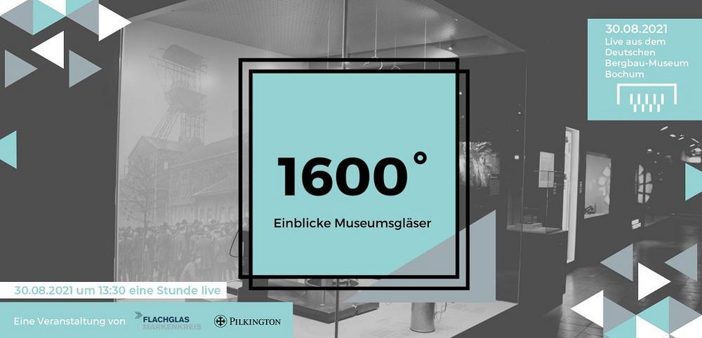1600° - Einblicke Museumsgläser - Livestream aus dem Deutschen Bergbau-Museum (Webinar   Online)