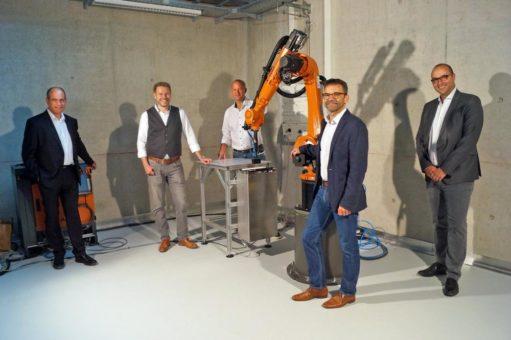 SAMBA Step System erweitert die Forschungsmöglichkeiten für Material Resource Management in Augsburg