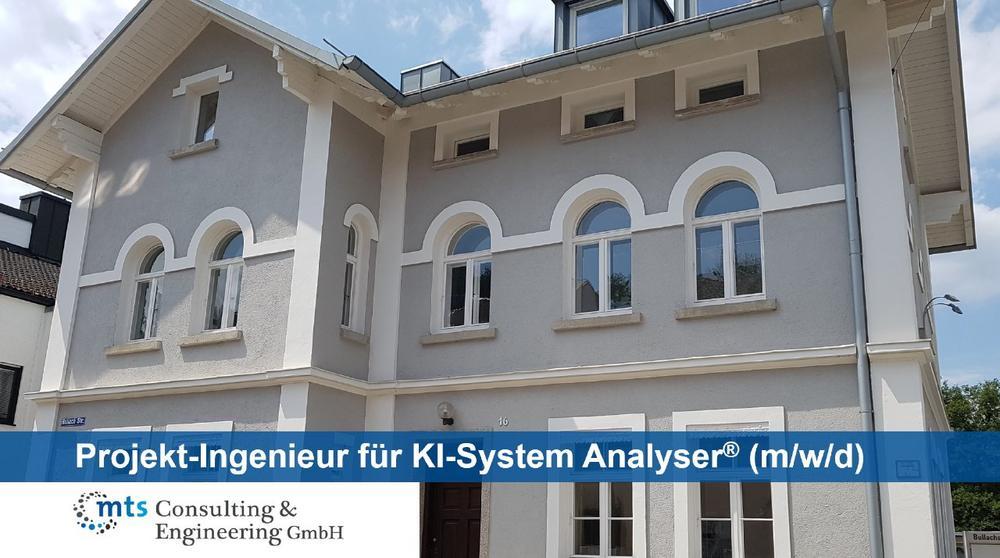 Projekt-Ingenieur für KI-System Analyser® (m/w/d) (Vollzeit | Fürstenfeldbruck)