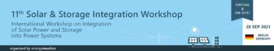 11th Solar & Storage Integration Workshop (Konferenz   Berlin)