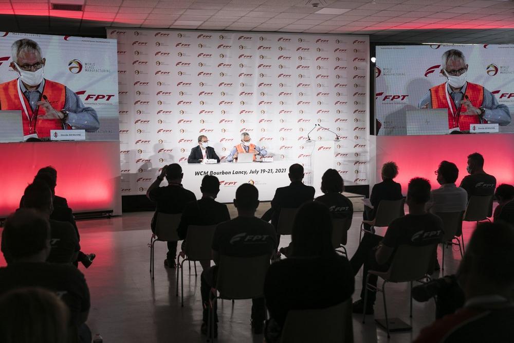 Das Werk von FPT Industrial in Bourbon-Lancy erhält die WCM-Goldmedaille