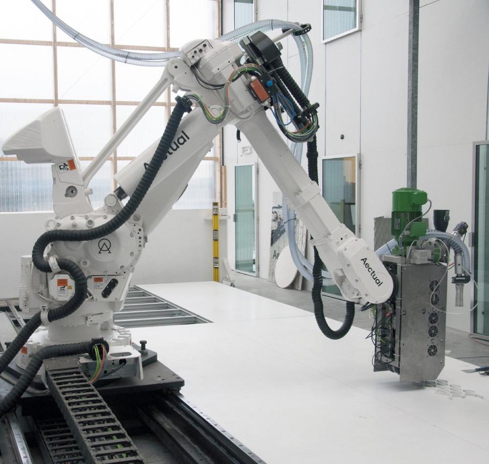 Bauprojekte sicher gedruckt mit igus Energiekettensystem in XXL-3D-Drucker