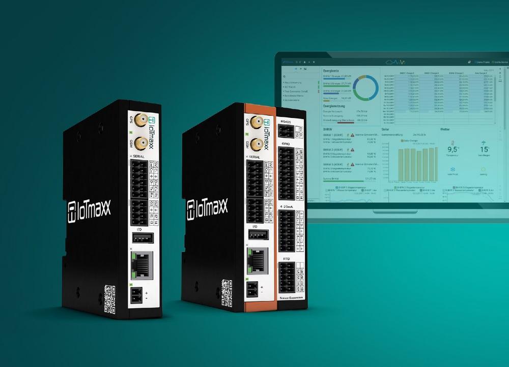 Mit IoTmaxx-Gateways Daten schnell in die Cloud senden