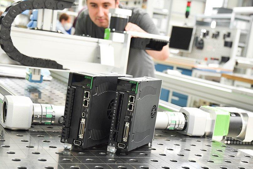 HIWIN präsentiert Antriebsverstärker ED1