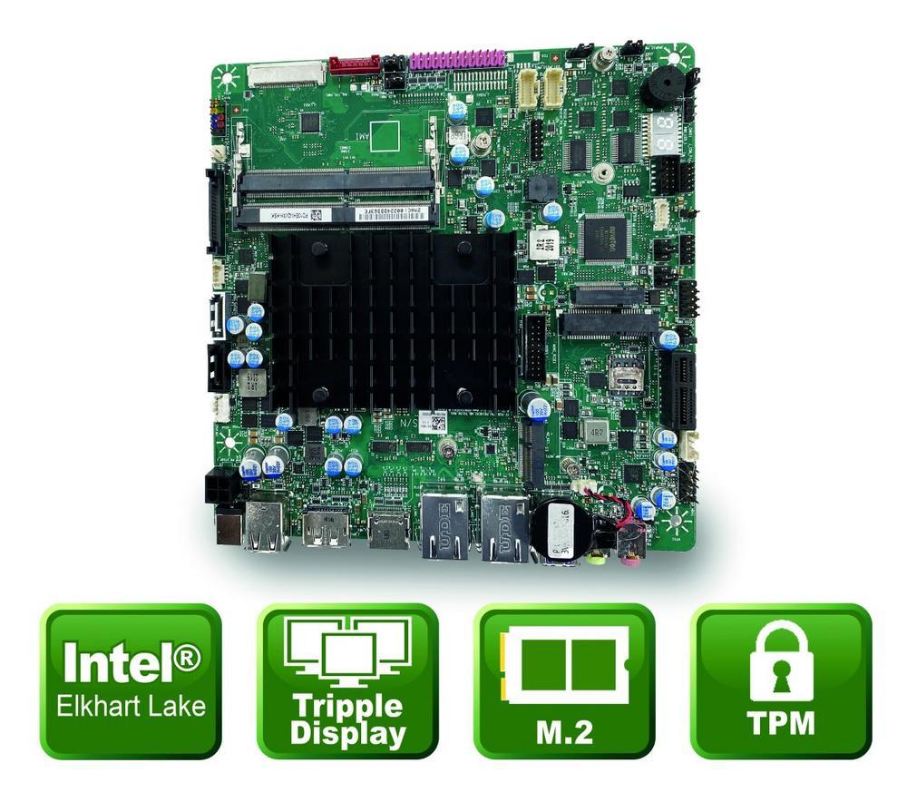Thin-Mini-ITX Board für IoT Anwendungen