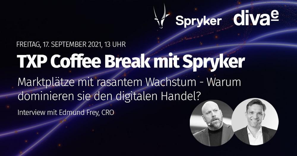 TXP Coffee Break mit Spryker - Markplätze mit rasantem Wachstum (Webinar   Online)